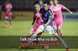 Nhà vô địch (09/07): Vòng 14 V-League, Hà Nội giành ngôi đầu (V-League 2019)