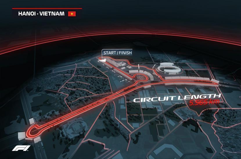 Giới thiệu chặng đua F1 Vietnam Grand Prix