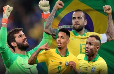 ĐT Brazil thăng hoa nhờ bộ tứ siêu đẳng