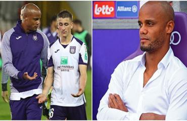 CĐV Anderlecht kêu gọi sa thải Kompany