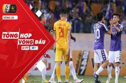 Tổng hợp vòng 20 V-League 2019