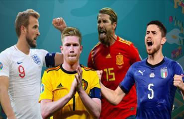 Vòng loại EURO 2020: Cuộc chơi của 4 đại gia