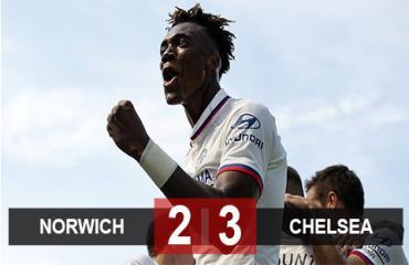 Norwich 2-3 Chelsea: The Blues đã biết thắng