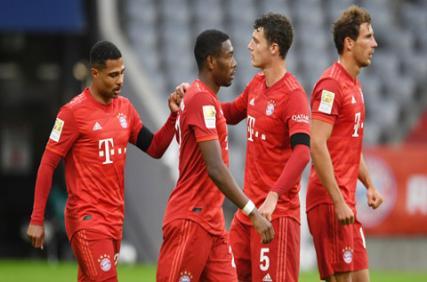 Tổng hợp vòng 27 Bundesliga: Bayern băng băng về đích, Dortmund & Leipzig kiên trì đeo bám
