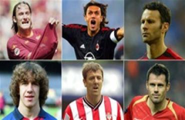 10 huyền thoại gắn bó cả sự nghiệp với chỉ một đội bóng