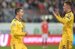Nga 1-4 Bỉ (Vòng loại EURO 2020)