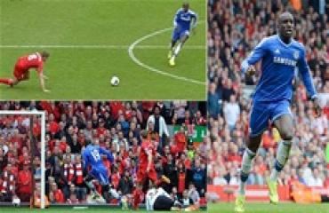 6 năm sau cú trượt chân ác mộng của Gerrard ở trận gặp Chelsea