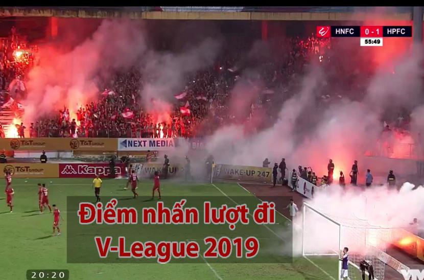 Điểm nhấn sau lượt đi V-League 2019