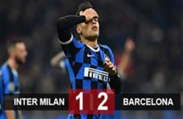 Inter 1-2 Barca: Conte và học trò chia tay Champions League