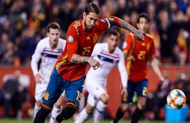 Chân sút số 1 của Tây Ban Nha dưới thời Enrique là... Ramos