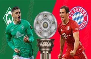 Bremen vs Bayern, 01h30 ngày 17/6: Thiên đường thứ 8