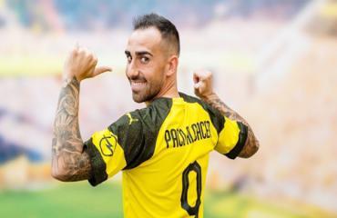 Với Alcacer, Dortmund như có thêm tân binh