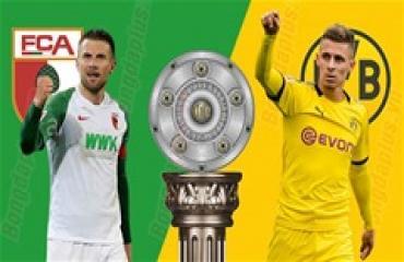 Augsburg vs Dortmund, 21h30 ngày 18/1: Khách 'mở hàng' suôn sẻ
