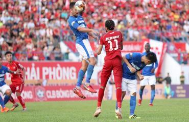 Hải Phòng 3-2 Quảng Ninh (Vòng 17 V-League 2019)