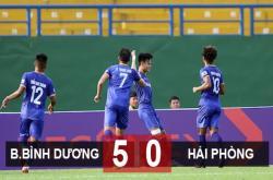 Bình Dương 5–0 Hải Phòng: Mưa bàn thắng!