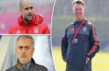 Van Gaal, Guardiola hay Mourinho là ông thầy số 1 trong mắt Robben?