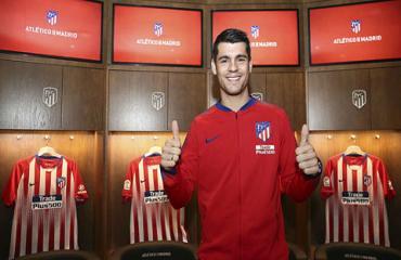 Atletico mắc kẹt vụ Morata