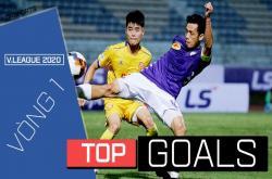 Top 5 bàn thắng đẹp vòng 1 V.League 2020