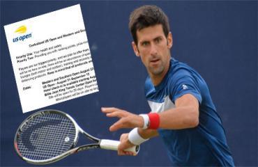 US Open 2020 chiều lòng Djokovic