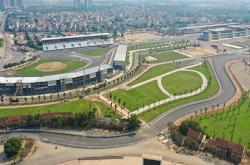 Hoàn tất chặng đua F1 dài hơn 5.000 m ở Hà Nội