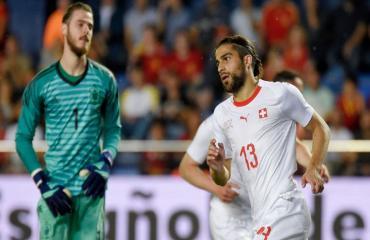 Tây Ban Nha 1-1 Thuỵ Sĩ (Giao hữu Quốc tế 2018)