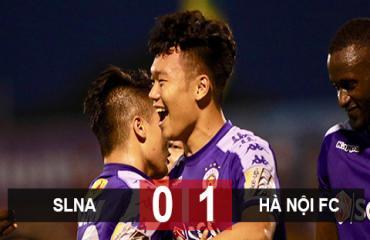 SLNA 0-1 Hà Nội FC: Lập kỷ lục vô địch V.League