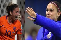 Vẻ đẹp hút hồn của 2 nữ cầu thủ quyến rũ nhất World Cup 2019
