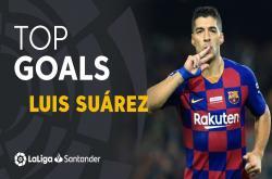 10 bàn thắng đẹp của Luis Suarez tại La Liga