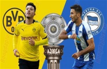 Dortmund vs Hertha, 23h30 ngày 6/6: Thắng để nuôi hy vọng mong manh