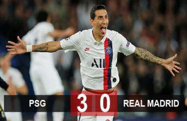 PSG 3-0 Real: Di Maria toả sáng, PSG nghiền nát cựu vương