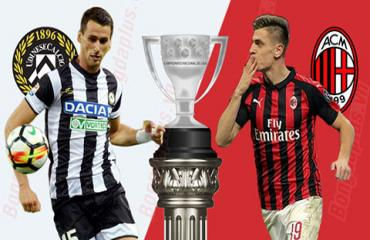 Udinese vs Milan, 23h00 ngày 25/8: Giampaolo khó ra mắt như ý