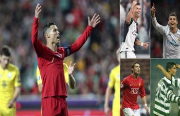 Ronaldo đã ghi bàn vào lưới 150 đội bóng