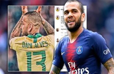 Dani Alves nhờ mạng xã hội tìm... đội bóng mới