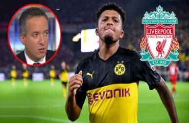 'Bến đỗ tiếp theo của Sancho chỉ có thể là Liverpool'