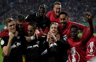RB Leipzig lần đầu vào chung kết cúp QG Đức, chờ xác định đối thủ Bayern hoặc Bremen