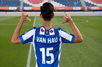 Đoàn Văn Hậu kế thừa số áo của tiền đạo hay bậc nhất Heerenveen