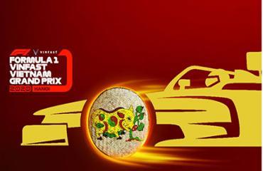 Nhiều biểu tượng văn hoá Việt xuất hiện trên vé xem F1
