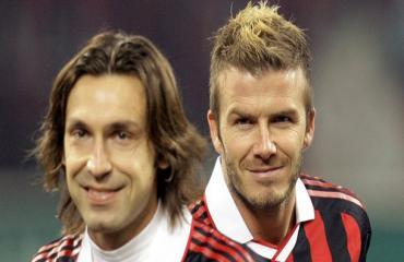 Beckham đánh bại Pirlo, trở thành cầu thủ đá phạt trực tiếp được yêu thích nhất