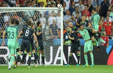 Vòng bán kết: Bồ Đào Nha 2-0 Xứ Wales