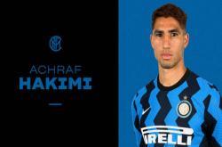 Inter Milan hoàn tất vụ chiêu mộ Hakimi từ Real Madrid