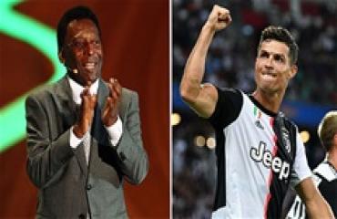 Ronaldo còn lâu mới có thể hạ bệ 'vua bóng đá' Pele