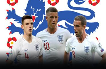 Southgate đã vẽ xong tam giác giữa sân cho ĐT Anh?