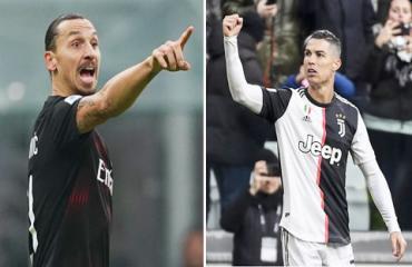 Ronaldo & Ibra - hai 'ông già' thắp sáng Serie A
