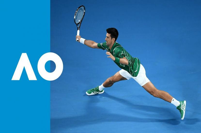 Novak Djokovic 3-1 Jan-Lennard Struff (Vòng 1 Australia Open 2020)