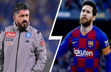 Gattuso muốn dựng 'chiếc lồng' để Napoli giam Messi