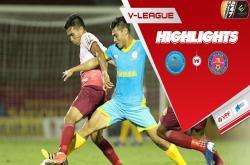 Khánh Hòa 0-0 Sài Gòn FC (Vòng 25 V-League 2019)