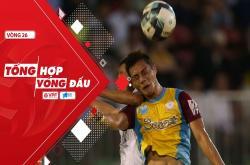 Tổng hợp vòng 26 V-League 2019