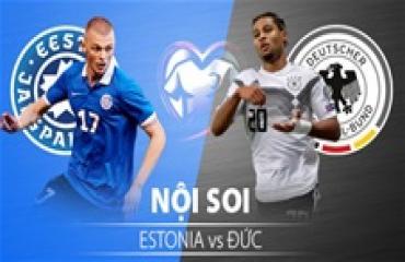 Estonia vs Đức, 01h45 ngày 14/10: Trứng chọi đá