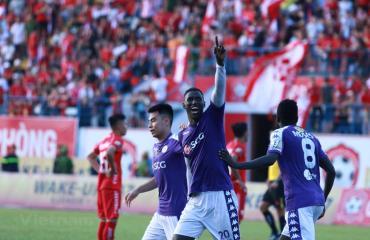 Hải Phòng 1-2 Hà Nội FC (Vòng 14 V-League 2019)
