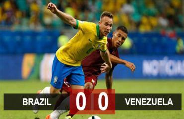 Brazil 0-0 Venezuela: Hai lần bị VAR khước từ, Brazil chia điểm Venezuela